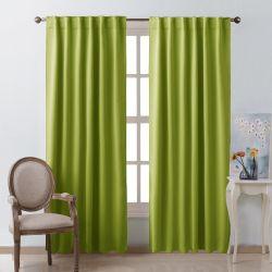 NICETOWN Green Curtains Blackout Drape Panels, Fresh Green