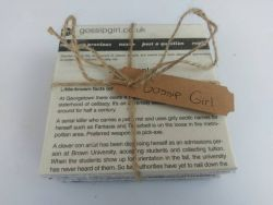 Set of 4 Hand Crafted Tile Coasters, Gossip Girl