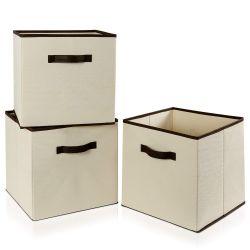 Lifewit Storage Bins, Beige