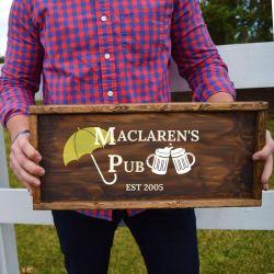 Maclaren's Pub How I Met Your Mother Unique Engagement Gifts