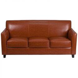 Red Barrel Studio Thornfeldt Leather Sofa