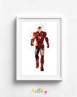 Ironman Print Wall Art