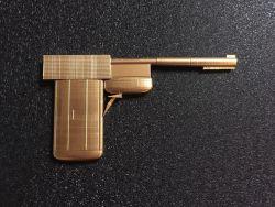 Golden Gun James Bond 3D Printed