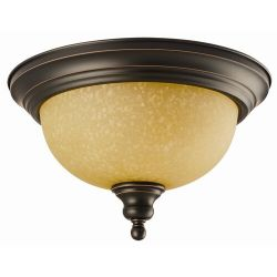 Design House Bristol 2-Light Flush Mount