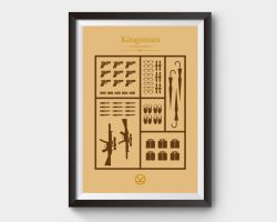 Kingsman Minimalist Movie Poster