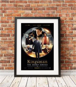 Kingsman The Secret Service (2014) Movie Cover Poster