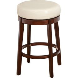 "Latitude Run Henley 24"" Swivel Bar Stool"