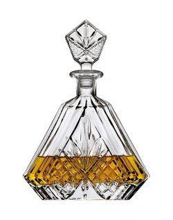 Lefonte Whiskey Decanter, Triangular