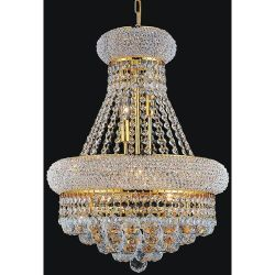 Rosdorf Park Andres 8-Light Crystal Chandelier