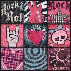 Aaron Christensen I Love Rock and Roll Wall Art