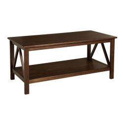 Three Posts Brassiewood Coffee Table