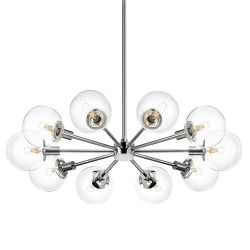 Brayden Studio Cohen 10-Light Sputnik Chandelier