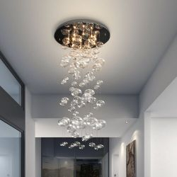 dCOR design Inertia 10-Light Cascade Pendant