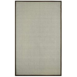 iCustomRug Zara Contemporary Synthetic Sisal Rug in Brown