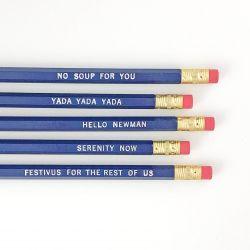 Seinfeld Sayings Pencil Set