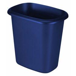Rubbermaid Waste Basket, Blue