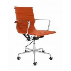 SOHO Ribbed Management Chair, Orange
