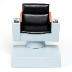 QMX Star Trek TOS 1:6 Scale Captain's Chair FX Replica