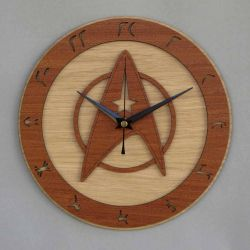 Star Trek Clock/Starfleet Clock