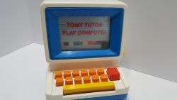1970s Vintage Tomy Tutor Play Computer Toy
