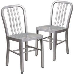 Latitude Run Phineas Metal Dining Chair