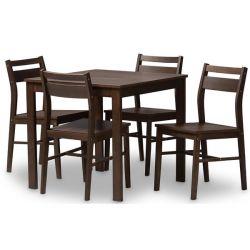 Winston Porter Hersom 5-Piece Dining Set