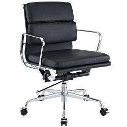 EMODERN FURNITURE Eames Style Softpadded Management Office Chair