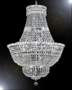 Gallery French Empire Crystal Chandelier