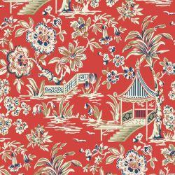 York Wallcoverings Ashford Tropics Floral and Botanical Wallpaper