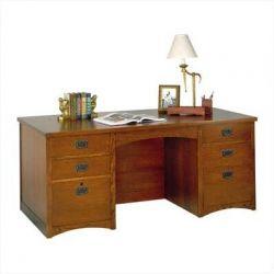 Millwood Pines Benno Double Pedestal Executive Desk