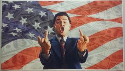 The Wolf of Wall Street Giant Wide Movie Scene Poster
