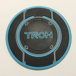 3D Printed Tron Legacy Disk Coaster/Plaque