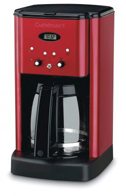 Cuisinart DCC-1200MR Central Coffee Maker, Metallic Red