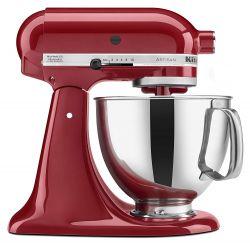 KitchenAid KSM150PSER Artisan Mixer, Empire Red