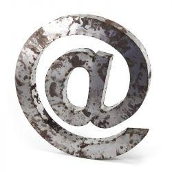 Zentique Metal @ Symbol Letter Block