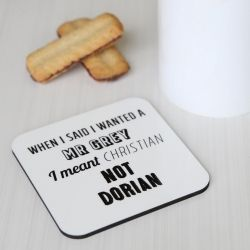 Fifty Shades of Grey – Funny Wooden Coaster