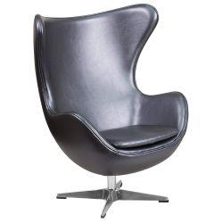 Flash Furniture Egg Chair with Tilt-Lock Mechanism