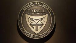 LARGE Blade Runner Tyrell Corporation LOGO plaque