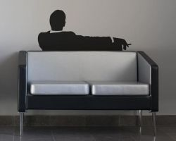 Mad Men Removable Wall Decal