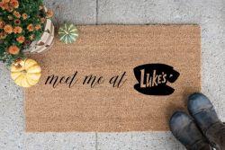 Meet Me At Lukes Doormat