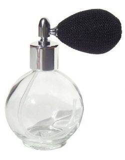 Private Label Empty Refillable Glass Perfume Bottle
