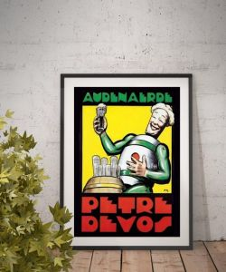 The Big Bang Theory, Petre Devos Poster