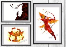 The Hunger Games For Print Wall Decor