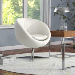Wade Logan Evanston Swivel Papasan Chair