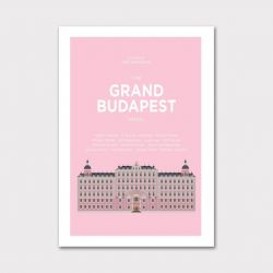 Wes Anderson Poster Print – Grand Budapest Hotel
